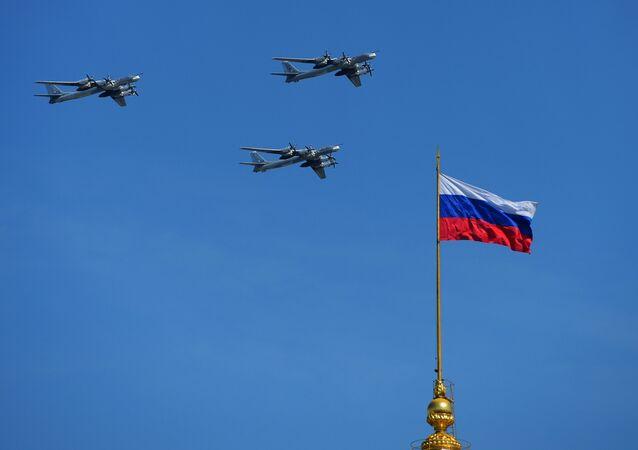 Strategické bombardéry Tu-95 MS