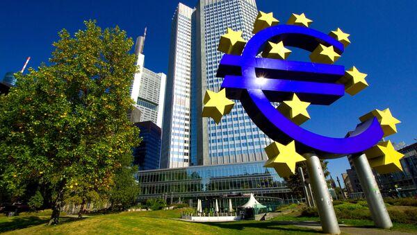 Evropská centrální banka ve Frankfurtu nad Mohanem - Sputnik Česká republika