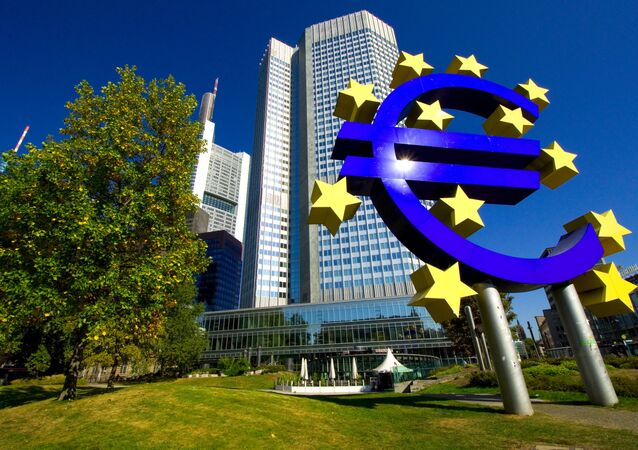 Evropská centrální banka ve Frankfurtu nad Mohanem