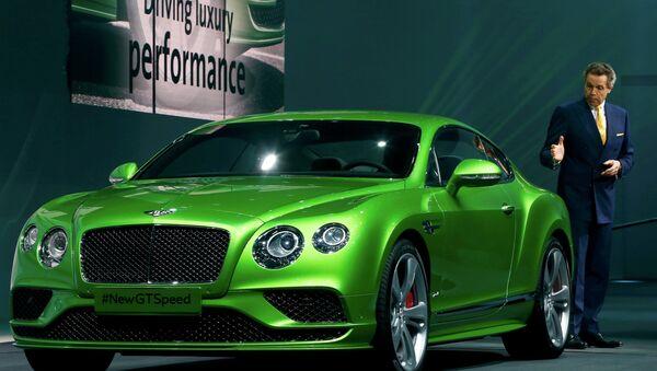 Bentley - Sputnik Česká republika