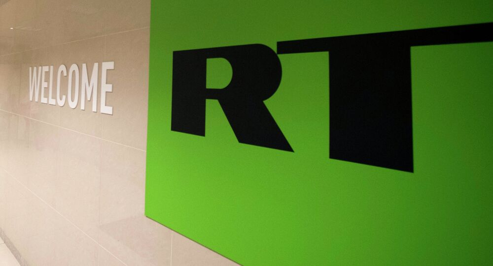 Logotyp Russia Today