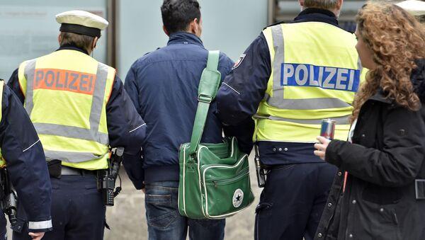 Policie v Německu - Sputnik Česká republika