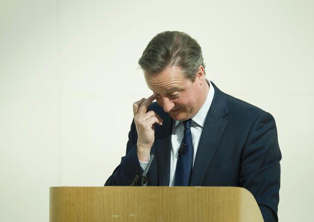 Britský ministerstký předseda David Cameron