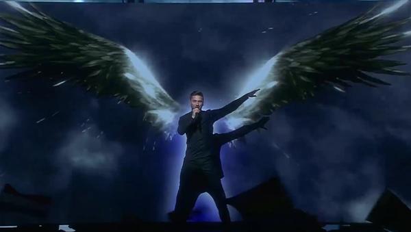 Sergej Lazarev během semifinále hudební soutěže Eurovize - Sputnik Česká republika