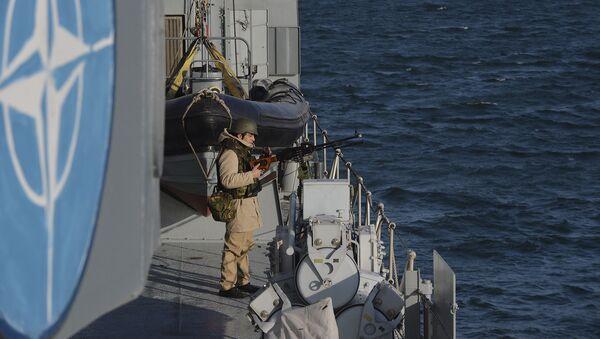Vojenská cvičení NATO v Černém moři. Ilustrační foto - Sputnik Česká republika