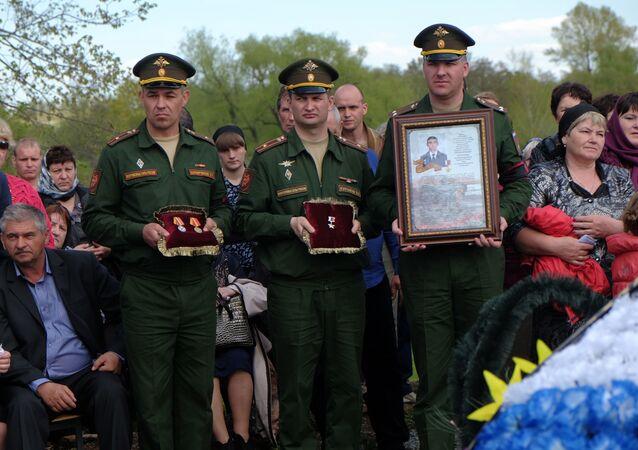 Pohřeb Alexandra Prochorenka