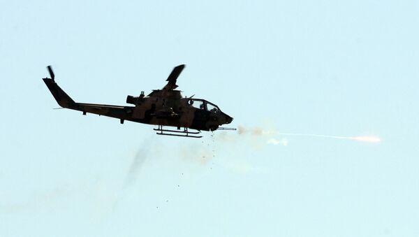 Turecký vojenský vrtulník Cobra - Sputnik Česká republika