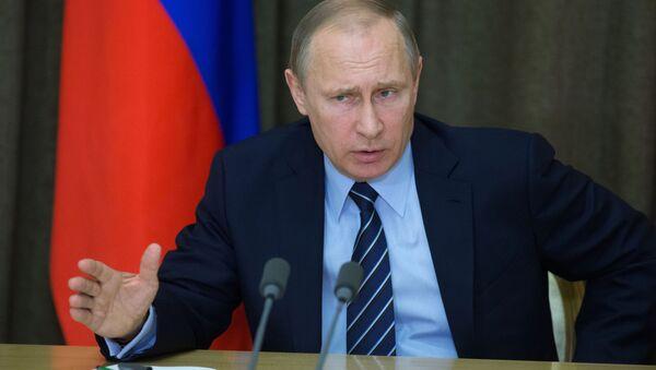 Ruský prezident Vladimir Putin. Ilustrační foto - Sputnik Česká republika