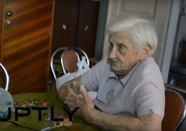 Veteránka Ljubov Pečková o těch, kteří ji napadli ve Slavjansku: Proč jsme je bránili?