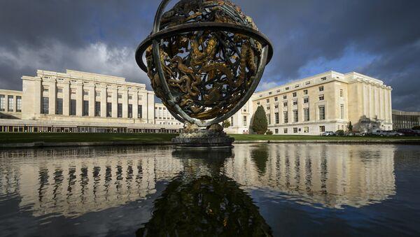 Budova OSN v Ženevě - Sputnik Česká republika