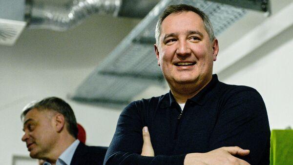 Vicepremiér Ruska Dmitrij Rogozin - Sputnik Česká republika