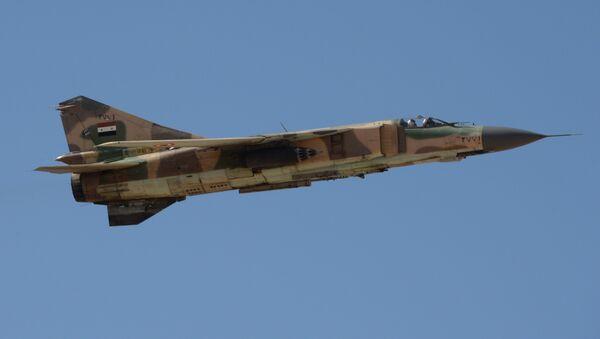 Syrský Mig-23 - Sputnik Česká republika
