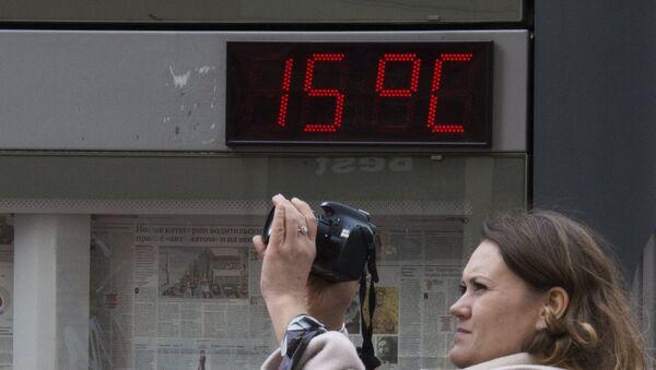 Teplé počasí v Moskvě - Sputnik Česká republika
