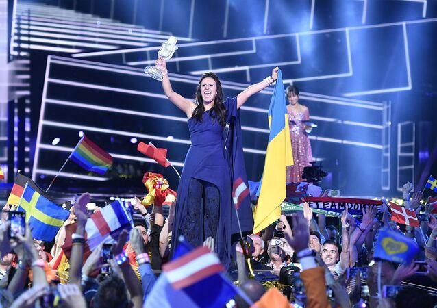 Ukrajinská zpěvačka Džamala