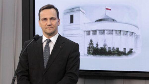 Radosław Sikorski - Sputnik Česká republika