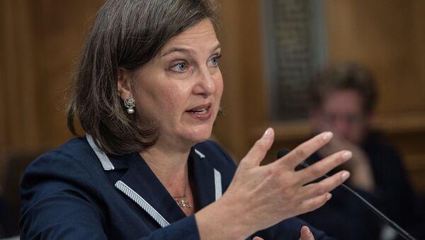 Náměstkyně ministra zahraničí USA Victoria Nulandová - Sputnik Česká republika