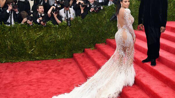 Kanye West and Kim Kardashian - Sputnik Česká republika