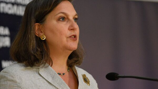 Victoria Nulandová, náměstkyně amerického ministra zahraničí - Sputnik Česká republika