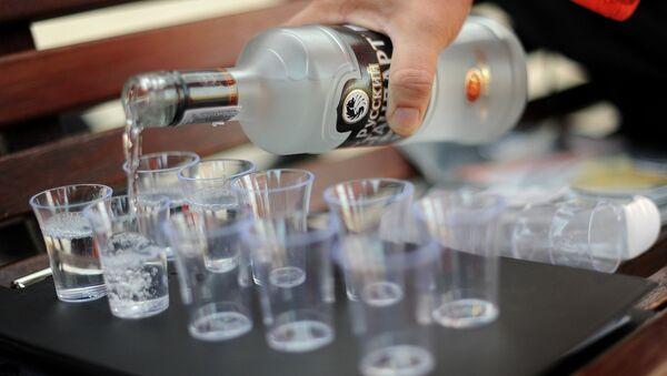 Vodka. Ilustrační foto - Sputnik Česká republika