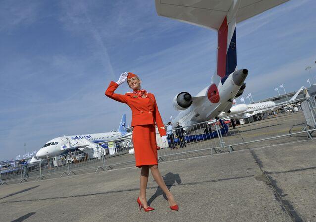 V roce 2012 byla uniforma Aeroflotu uznána za nejstylovější mezi evropskými leteckými společnostmi