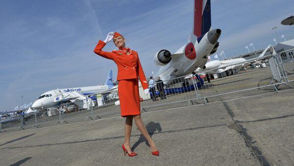 V roce 2012 byla uniforma Aeroflotu uznána za nejstylovější mezi evropskými leteckými společnostmi - Sputnik Česká republika