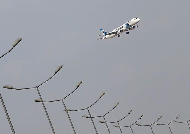 Letadlo EgyptAir