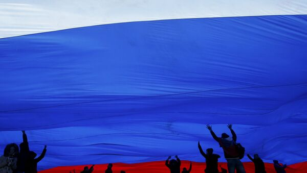 Oslavy na Krymu - Sputnik Česká republika