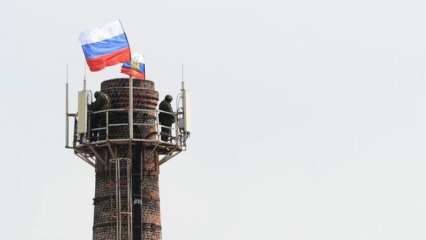 Bývalý ukrajinský štáb v Sevastopolu - Sputnik Česká republika