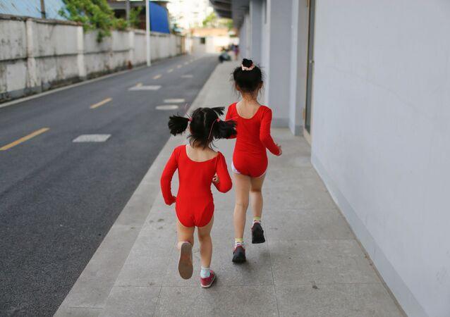 Olympijská škola v Šanghaji: jak v Číně trénují mistry