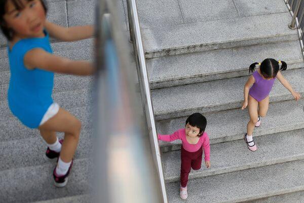 Olympijská škola v Šanghaji: jak v Číně trénují mistry - Sputnik Česká republika