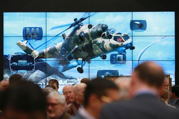 Nejnovější technika vrtulníkového průmyslu na HeliRussia - Sputnik Česká republika