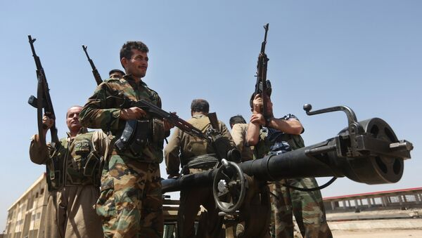 Kurdští vojáci - Sputnik Česká republika