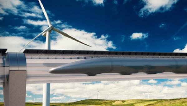 Transportní systém Hyperloop - Sputnik Česká republika