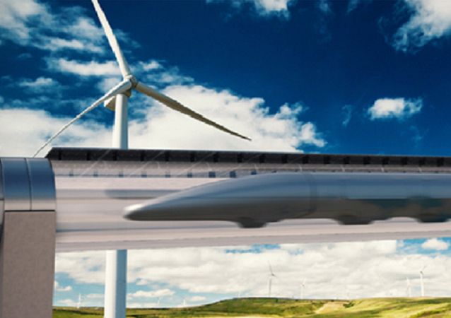 Hyperloop Transportation System