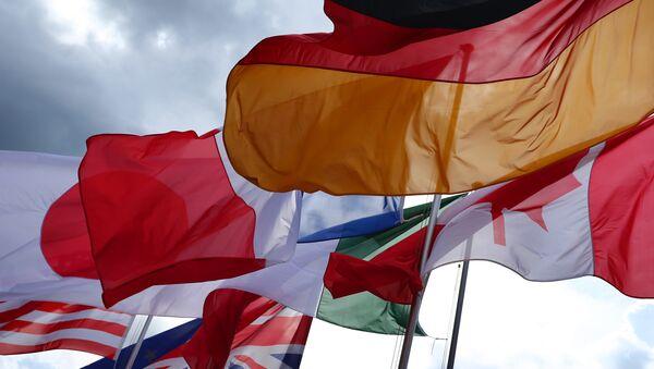 Vlajky zemí G7 - Sputnik Česká republika