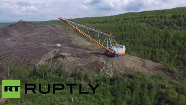 Jak fungují nejnovější ruská rýpadla o velikosti šestiposchoďového domu - Sputnik Česká republika