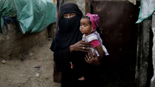 Mladá uprchlice z Jemenského Taisu - Sputnik Česká republika