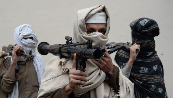 Bývalí příslušníci hnutí Tálibán v Afghánistánu odevzdávají zbraně - Sputnik Česká republika