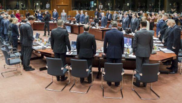 Minuta ticha během mimořádného summitu EU - Sputnik Česká republika