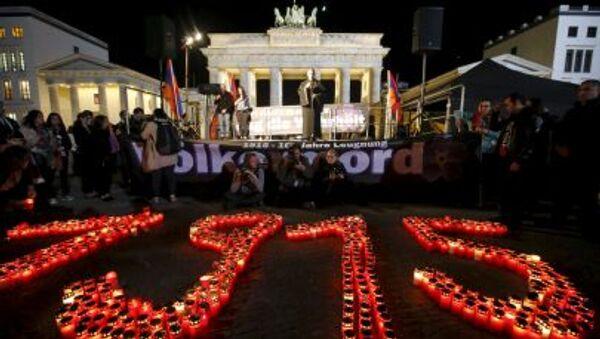 Den památky genocidy Arménů - Sputnik Česká republika