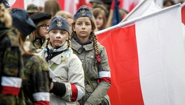 Přehlídka během Dne nezávislosti Polska - Sputnik Česká republika