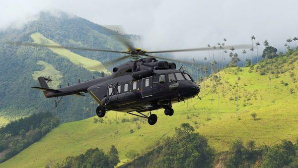Víceúčelový vrtulník Mi-171A2 - Sputnik Česká republika