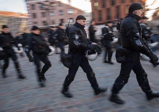 Rižská policie