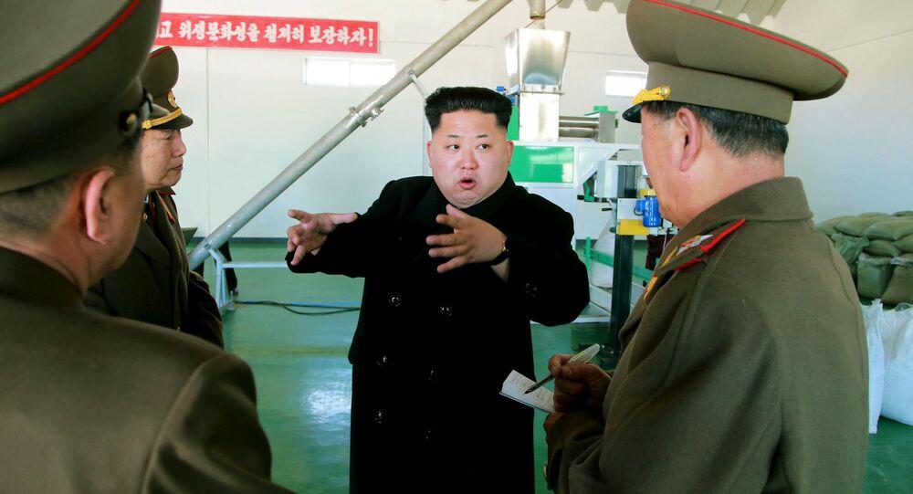 Vůdce Severní Koreje Kim Čong-un