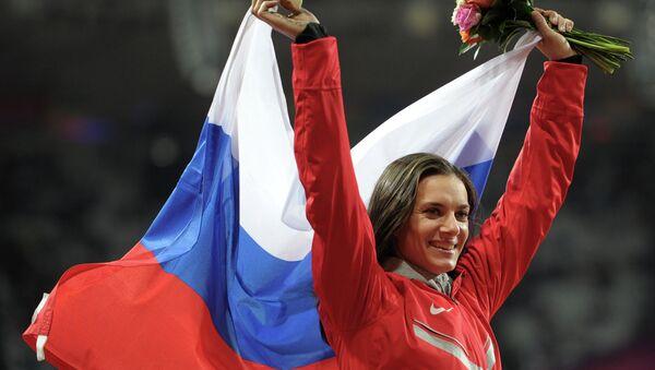 Jelena Isinbajevová - Sputnik Česká republika