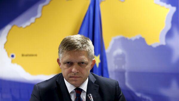 Byvalý slovenský premiér Robert Fico - Sputnik Česká republika
