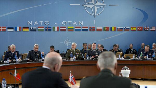 Zasedání vojenského výboru NATO - Sputnik Česká republika