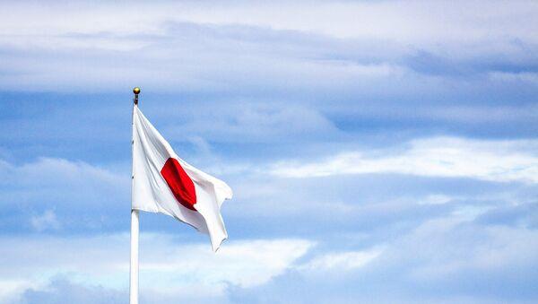 Japonská vlajka. Ilustrační foto - Sputnik Česká republika