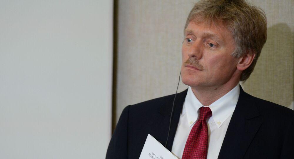 Tiskový mluvčí ruského prezidenta Dmitrij Peskov