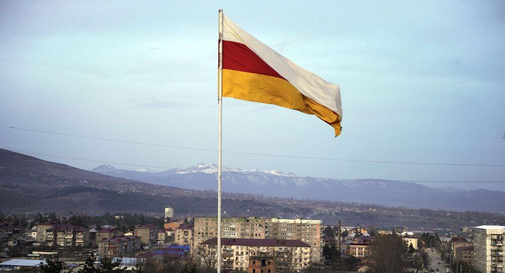 Pohled na hlavní město Jižní Osetie